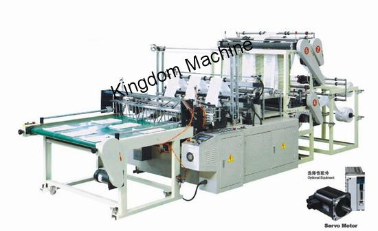 Two lines Plastic Bag Machine